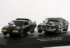 "1:43 Autoart MAD MAX 2: THE ROAD Warrior Interceptor/nemico CAR"" #52745 RARA! 18"