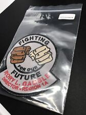 Fighting For Our Future Rory L. Gamble Director Region 1A Patch (patch0078)