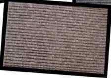Zerbino MARRONE PVC 40 x 60 cm TAPPETO BORDO in GOMMA PVC INTERNO MOQUETTE CASA