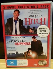 Hitch / The Pursuit of Happyness - Will Smith DVD - Free Shipping