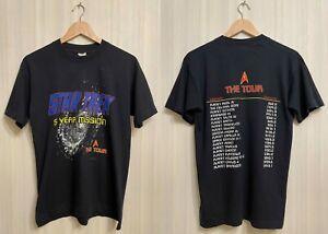 VINTAGE 1996 Star Trek 5 years mission The tour Size M t-shirt tee Single Stitch
