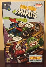 SDCC 2015 Exclusive Mattel Thomas and Friends DC Super Friends Minis Sold Out !!