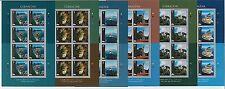 64424 -  GIBRALTAR - STAMPS - 2012 EUROPA CEPT: Visit Gibraltar MINIATURE SHEETS