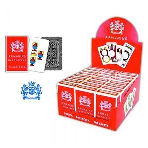 Armanino Napoletane Italian Playing Cards Briscola & scopa ( original )