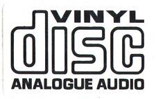 Usura SKATEBOARD Sticker-vinyl disc Analogico Audio Giradischi CD
