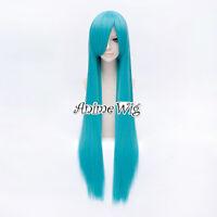 VOCALOID MIKU Lolita Style Light Blue 100CM Straight Long Anime Cosplay Wig