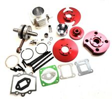 44MM BIG BORE KIT TOP END FOR ATV POCKET BIKE 47CC 49CC 2 STROKE STAGE 2 RED
