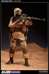 SIDESHOW COLLECTABLES G.I. JOE Desert Cobra Sniper Trooper