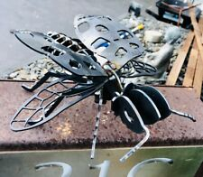 Laser Cut Corten Steel Art Garden Sculpture Lady Bug