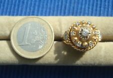 Bague Dome OR MASSIF 750 18K Diamant lot bijou ancien Art Deco Diamond Ring Gold