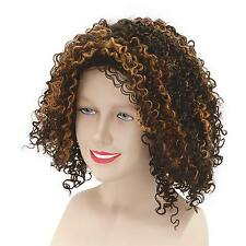 FANCY DRESS Mel B 'Scary Spice Brown curly Wig