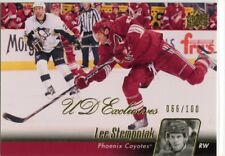 10/11 UPPER DECK UD EXCLUSIVES #406 LEE STEMPNIAK 066/100 COYOTES *46853