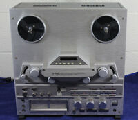 Teac X-2000R Reel to Reel Player Chrome Face Works, from Frank Sinatra Jr Estate