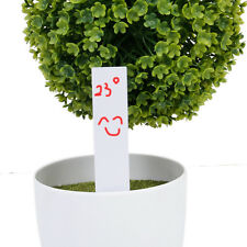 100 Long Stick Plastic Garden Plant Seed Labels Markers Nursery Tags White