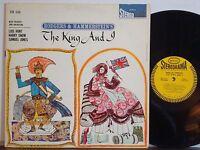 THE KING AND I Lois Hunt-Harry Snow-Samuel Jones RARE NM 1960 EPIC STEREORAMA LP