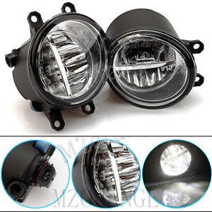 LH+RH LED Front Fog Light Lamps For Toyota Corolla C-HR Fortuner Hilux Kluger AU