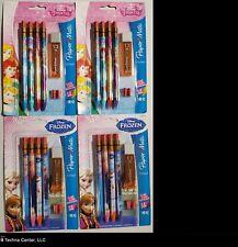 Paper Mate Mechanical Pencil, Disney Princess & Disney Frozen, 4/Pack, 4 Packs