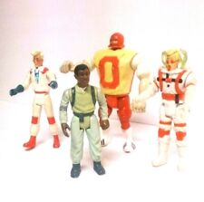 Vintage Real Ghostbusters 1984-1989 Lot of 4 action figures Columbia Pictures
