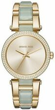 Michael Kors Women's MK4317 Delray Gold Tone Stainless Steel Ladies Watch