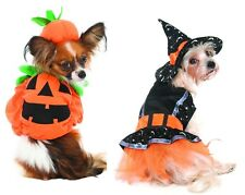 Halloween Pumpkin or Witch Costume for Dogs - XS - S -  M - Trick or Treat