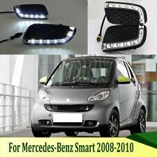LED Daytime Running Light DRL Fog Lamp For Mercedes Benz Smart Fortwo 2008-2011