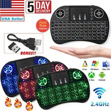 Mini Wireless Remote Keyboard Mouse for Samsung,LG Smart TV,Android,Tablet,PC