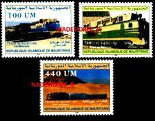 MAURITANIA 2003 MNH RAILWAYS TRAINS LOCOMOTIVE CHEMINS DER FER