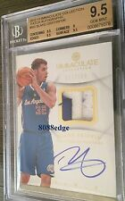 2013-14 IMMACULATE PATCH AUTO: BLAKE GRIFFIN #67/100 ON CARD AUTOGRAPH BGS 9.5