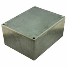 De Pared Delgada Diecast aluminio proyecto Caja 125x125x79mm