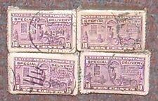 Estados Unidos 1922-31... 100 Sellos... entrega especial 10c... paquete De Old Time Stock