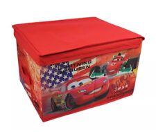 Disney Pixar Cars Almacenamiento Caja Caja De Juguetes Niños Rojo