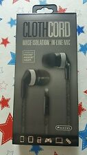 Sentry Noise Isolation Stereo Earbuds with In-line Mic
