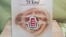 1973 FORD LTD CARS & STATION WAGONS BROCHURE