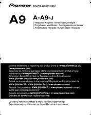 Pioneer A-A9-J Amplifier Owners Manual