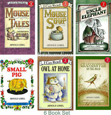 I Can Read Level 2 Mouse Tales Mouse Soup,Owl At Home,Uncle Elephant + 6 Books