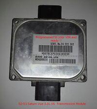 02-03  Saturn Vue V6 Transmission module TCM 24222362 / VIN Programmed & Ready!