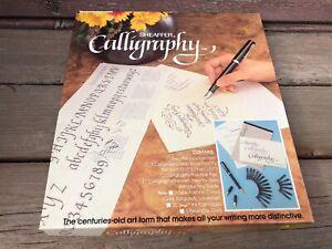 VTG SHEAFFER CALLIGRAPHY PEN SET #72260 W BOX