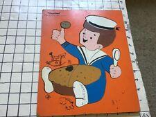 Vintage frame tray puzzle -- PLAYSKOOL -- LITTLE JACK HORNER