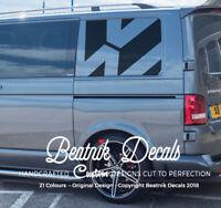 VW Transporter Side Logo Decal Sticker Quarter Panel Graphic Emblem Vinyl SWB