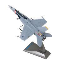 1:100 F18 Militär Kampf Flugzeug Flugzeugmodelle Modell Spielzeug Sammlung