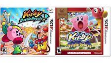 Kirby: Battle Royale & Selects Kirby Triple Deluxe - (Nintendo 3DS, 2017)
