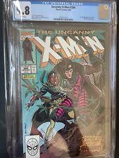 UNCANNY X-MEN #266 - CGC 9.8 White Pages NM/MT - 1ST GAMBIT