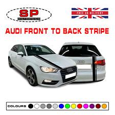 Blanc Brillant Arrière Hatch Boot Badge Audi quatre anneaux A3 A4 A5 A6 A4 tdi s line