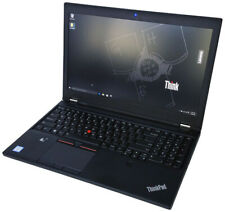 "Lenovo ThinkPad P50 15.6"" Xeon, 64GB RAM,  512GB SSD, NVIDIA QUADRO, Win10 PRO"