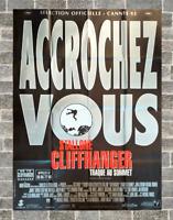 Plakat Kino Cliffhanger Sylvester Stallone 120 X 160 CM