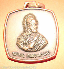 1 ANCIENNE MÉDAILLE XX° AIGLE ET PERSONNAGE métal bronze