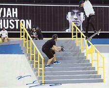 "~~ NYJAH HUSTON Authentic Hand-Signed ""Street League Skateboarding"" 8x10 Photo ~"