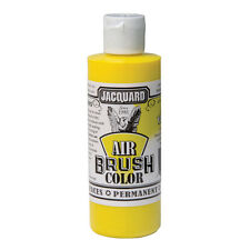 Jacquard Air Brush Colours Paint for Shoes / Sneakers - Metallic Yellow - 4oz