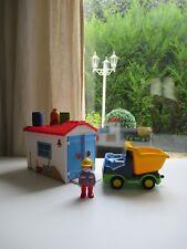 🍓 Playmobil 123 Camion Avec Garage 6759 Complet