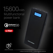 QC2.0 15600mAH LCD Power Bank for HP IBM Lenovo Acer Dell Laptop Quick Charger